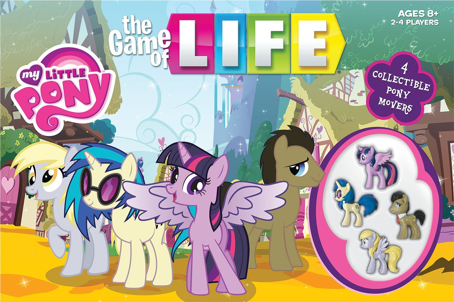 The Game Of Life Mlp Fim Edition Including Derpy Derpy Hooves