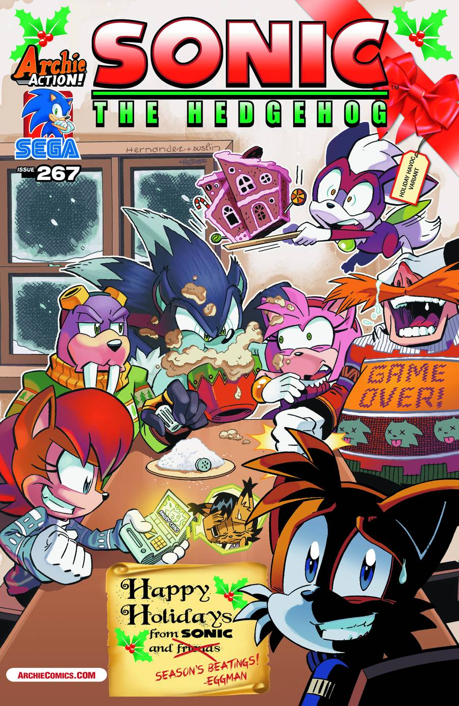 Image 833595 archie sonic comics know your meme sega e267 issue game 0 appy molidays from sonic and archiecomics thecheapjerseys Gallery