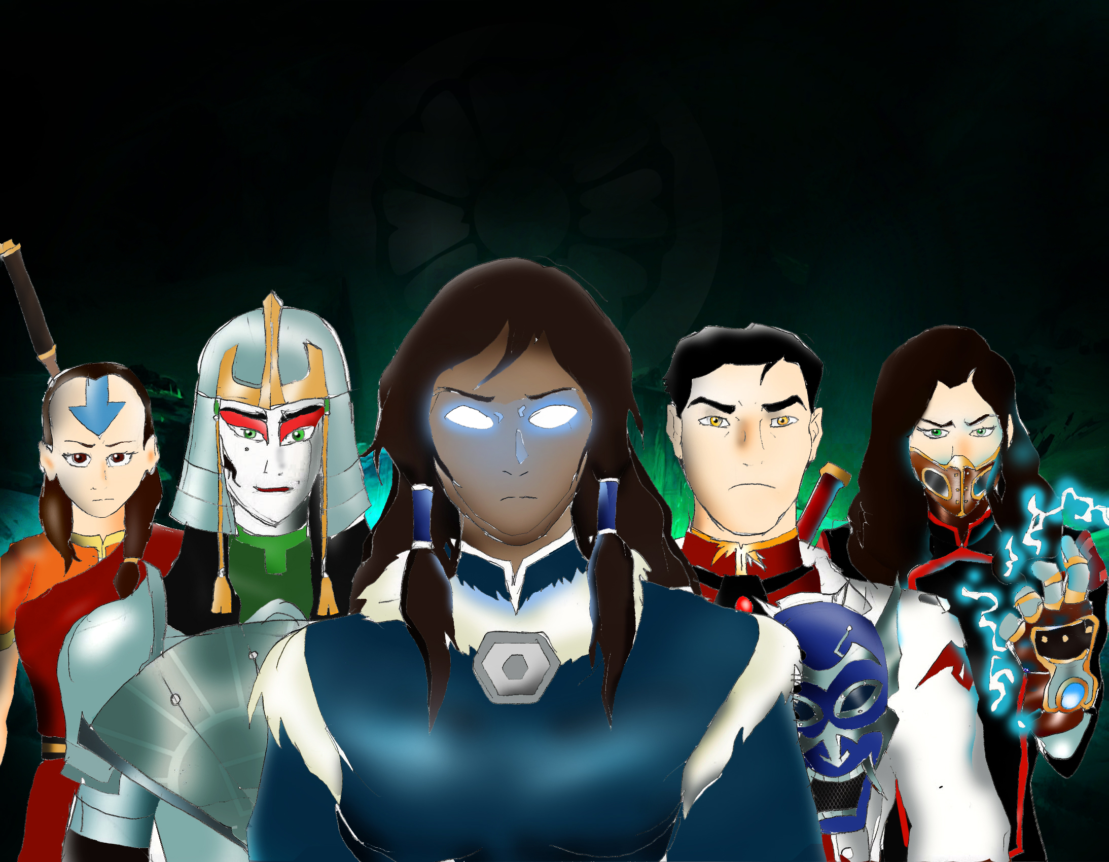 The New Order Of The White Lotus Avatar The Last Airbender The Legend Of Korra Know Your Meme
