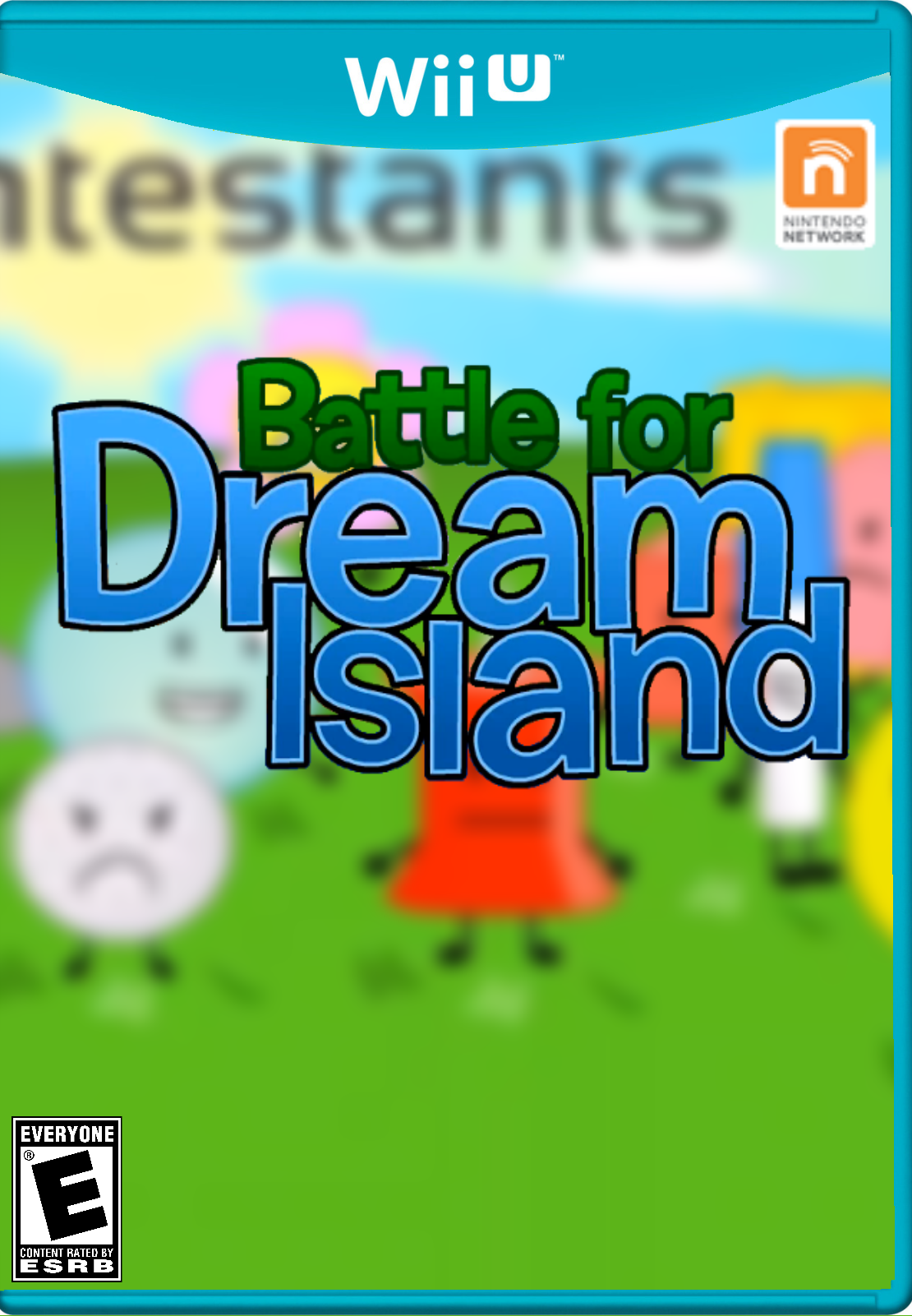 BFDI (Wii U Cover) | Battle for Dream Island | Know Your Meme