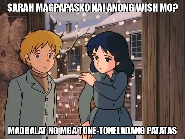 Christmas Memes Philippines.Sarah It S Christmas Time What Do You Wish For To Peel
