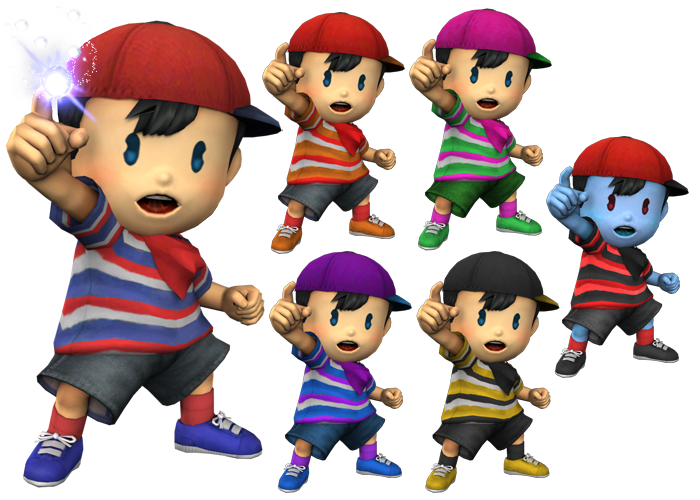 SSBB Ninten   EarthBound / Mother   Know Your Meme