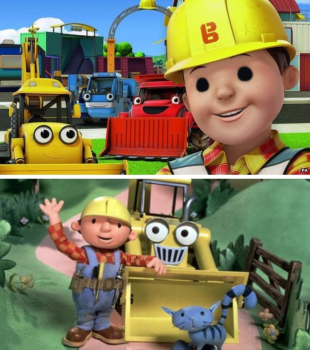 he stares into your soul bob the builder know your meme