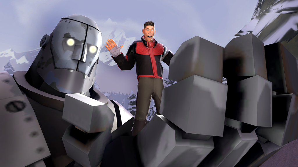 [SFM] The Iron Giant   Team Fortress 2   Know Your Meme