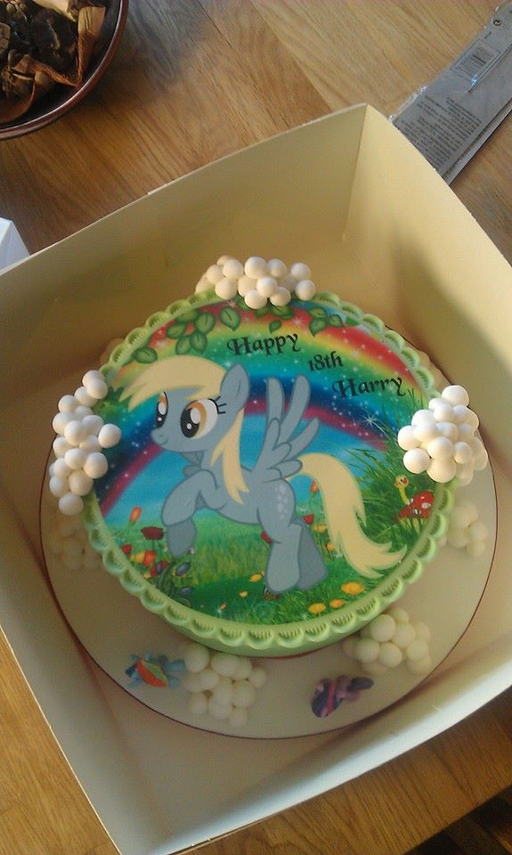 Birthday Cake For Harry Derpy Hooves Know Your Meme