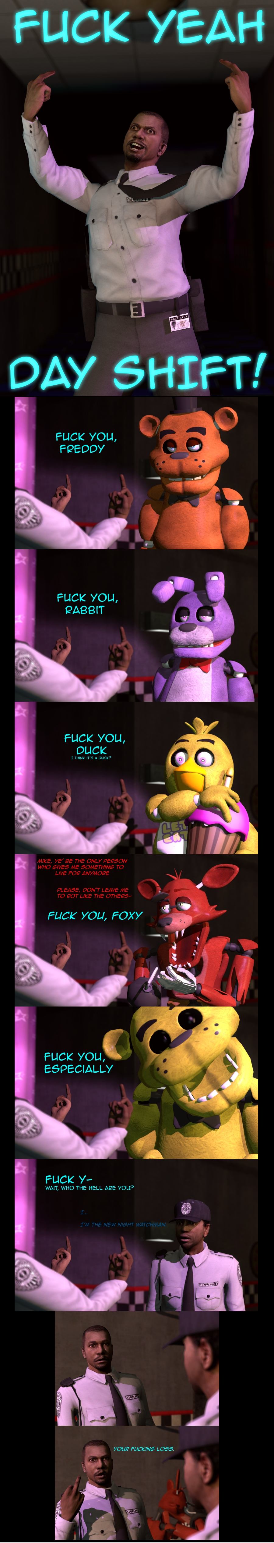 Fuck Yeah | Five Nights at Freddy's | Know Your Meme