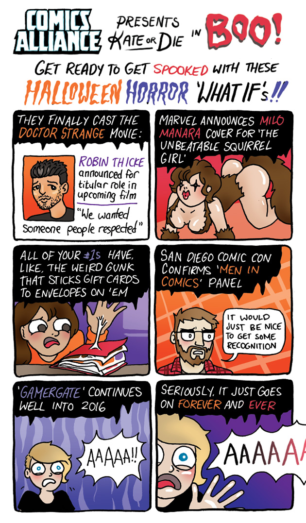 comics aliiance everyone gamergate know your meme