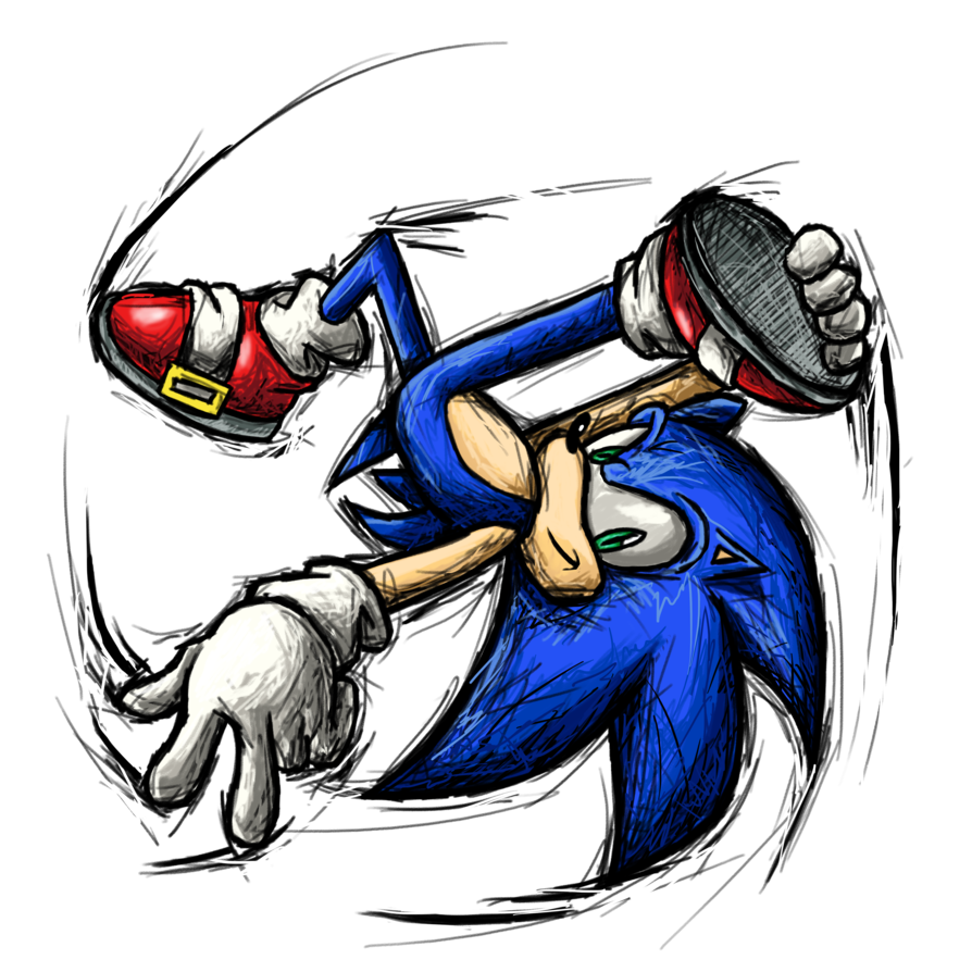 smash striker sonic super smash brothers know your meme