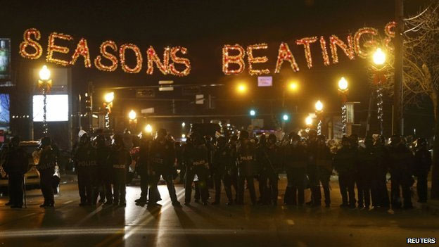 seasons greetings 2014 ferguson riots know your meme