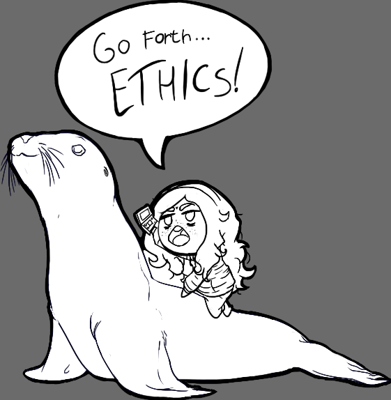 go forth ethics sea lioning know your meme