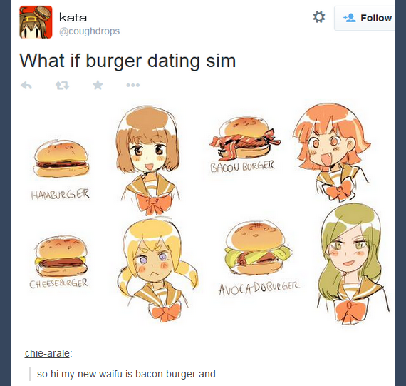 dating burger