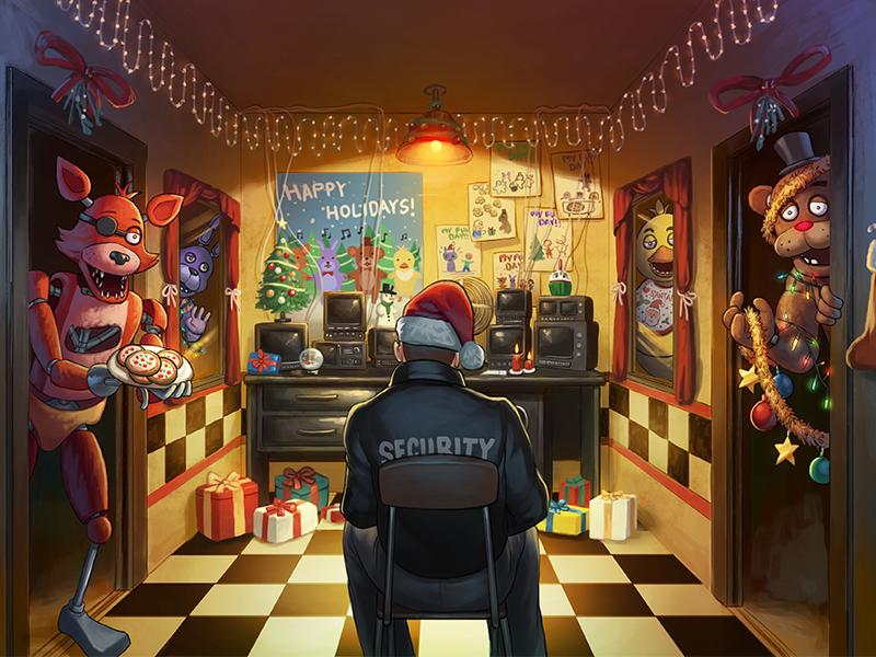 Fnaf Christmas.Five Nights Before Christmas Five Nights At Freddy S