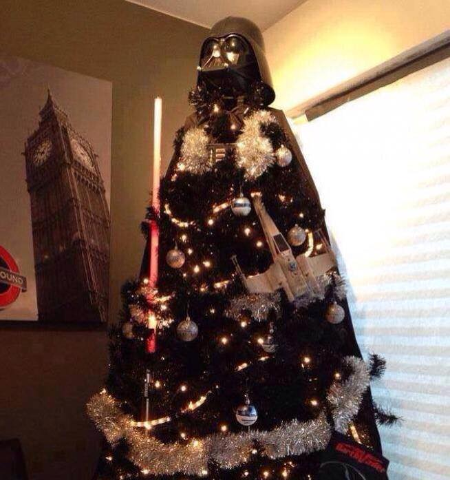 Christmas Tree Meme.Darth Vader Themed Christmas Tree Star Wars Know Your Meme