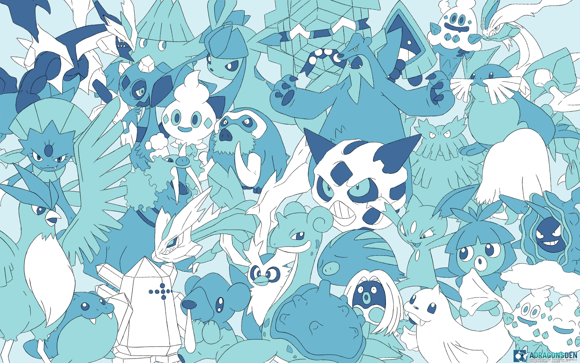 Image 878991 pokmon know your meme adrag blue pattern aqua design sciox Choice Image