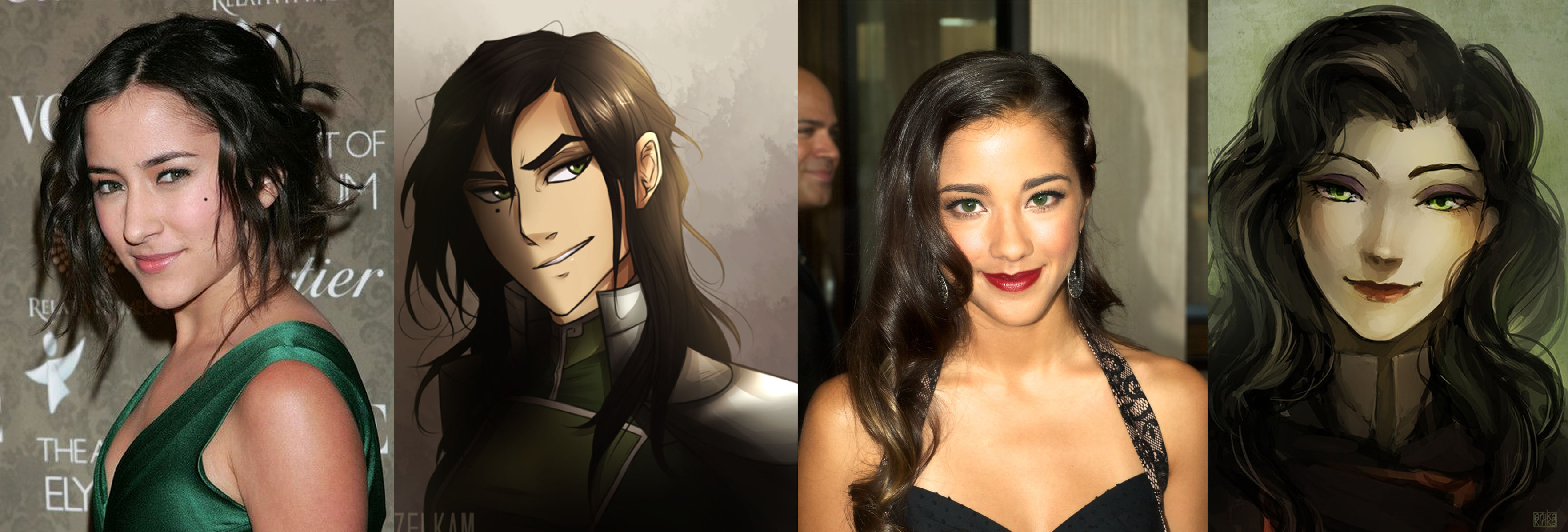Voice Actress Resemblance Avatar The Last Airbender The Legend