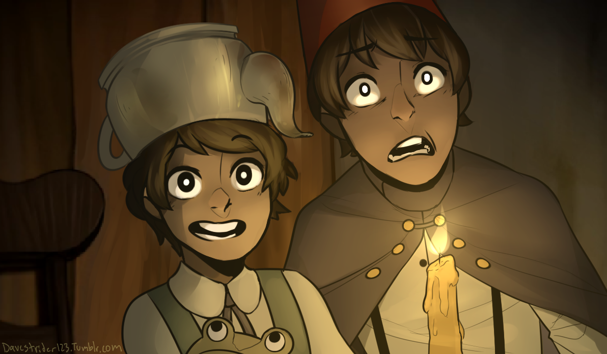 Redraw by Davestrider123 on Tumblr   Over the Garden Wall   Know ...