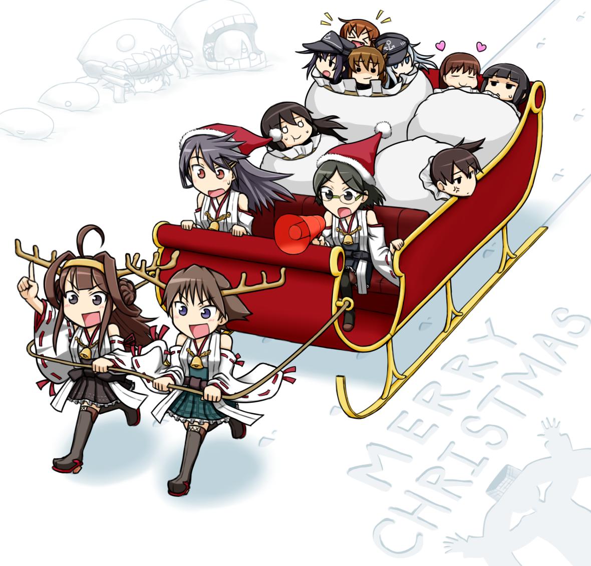 提督たちにプレゼントを配るのは、私たちデース! | Kantai Collection ...