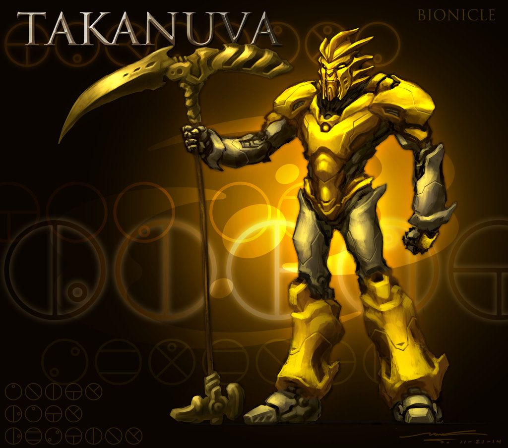 BIONICLE TAKANUVA Bionicle The Game Heroes Yellow Computer Wallpaper Action Figure Darkness