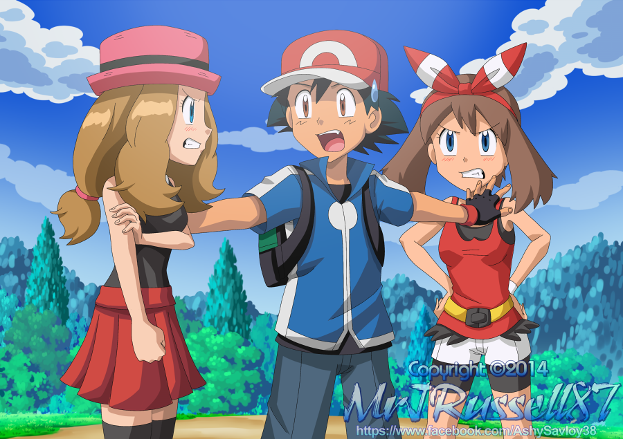 Sexy pokemon porn with trainer