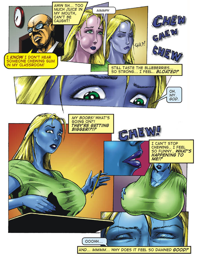 Breast expansion comic book