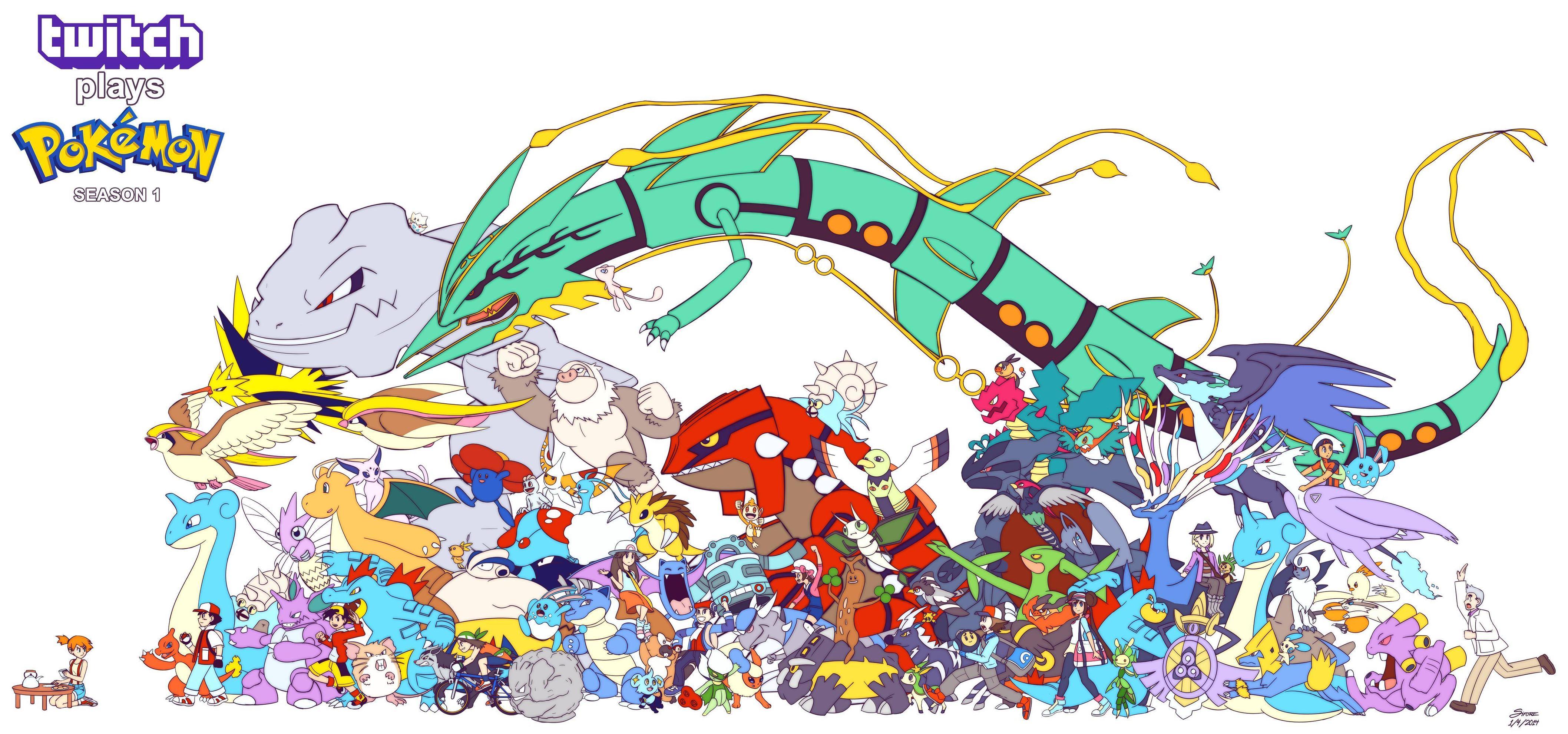 twitch plays pokemon season 1 poster twitch plays pokemon know