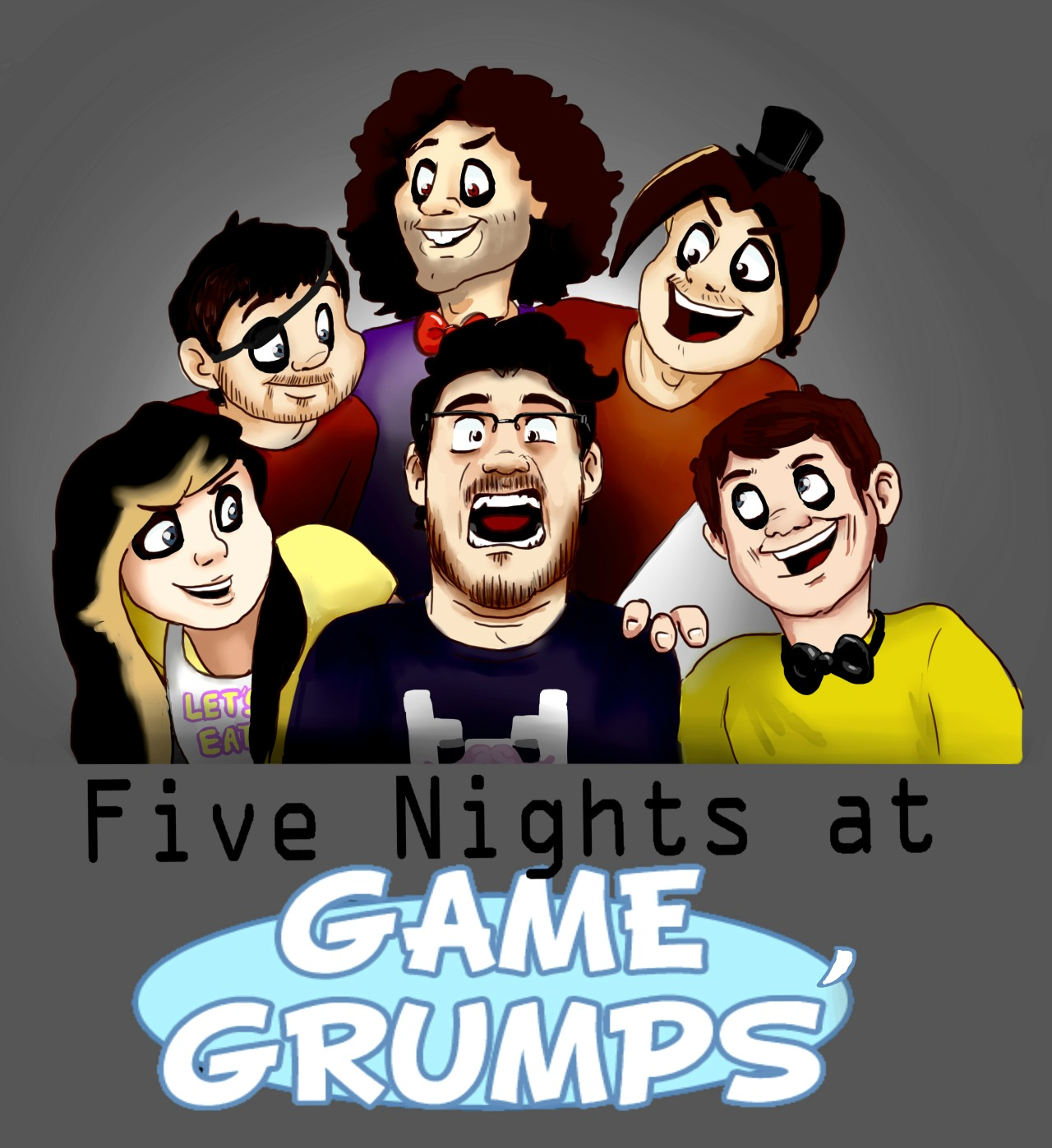 Markiplier Plays Five Nights At Game Grumps Markiplier