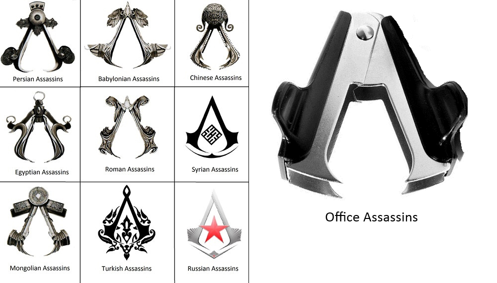 Office Assassin Assassin S Creed Logo Know Your Meme