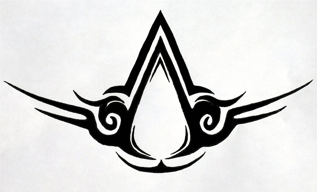 Tribal Assassin S Creed Logo Assassin S Creed Logo Know Your Meme