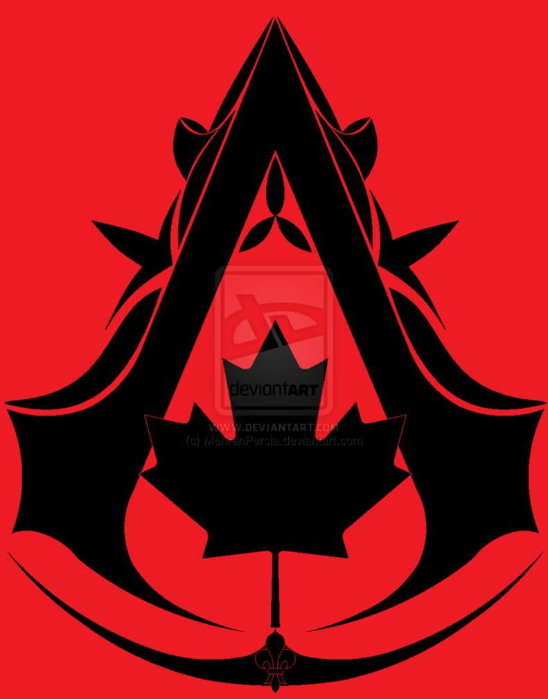 Canadian Assassin Symbol Assassin S Creed Logo Know Your Meme