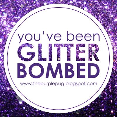 Afbeeldingsresultaat voor you've been glitterbombed