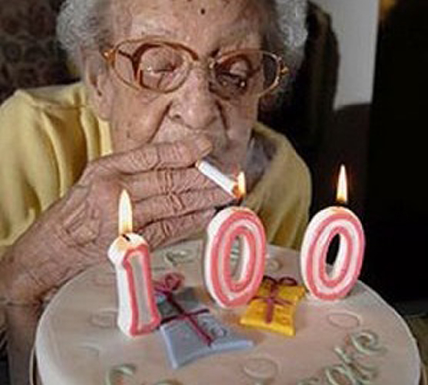 How Grandma Celebrates Her 100th Birthday Know Your Meme
