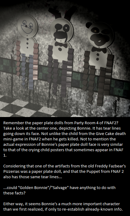 The Paper Plate Doll | Springtrap | Know Your Meme