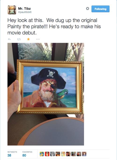 Painty The Pirate Painting Spongebob Squarepants Know Your Meme