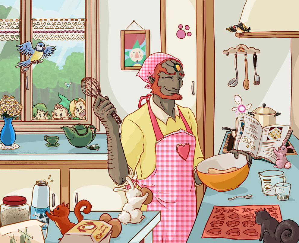 Ganon The Housewife The Legend Of Zelda Know Your Meme