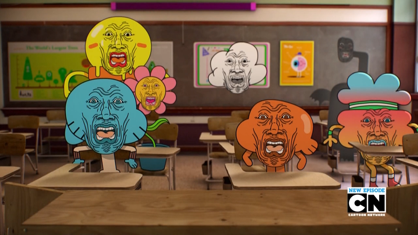 horror the amazing world of gumball know your meme