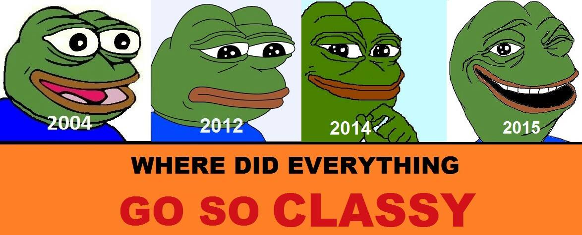 Where Did Everything Go So Classy Well Memed Know Your Meme