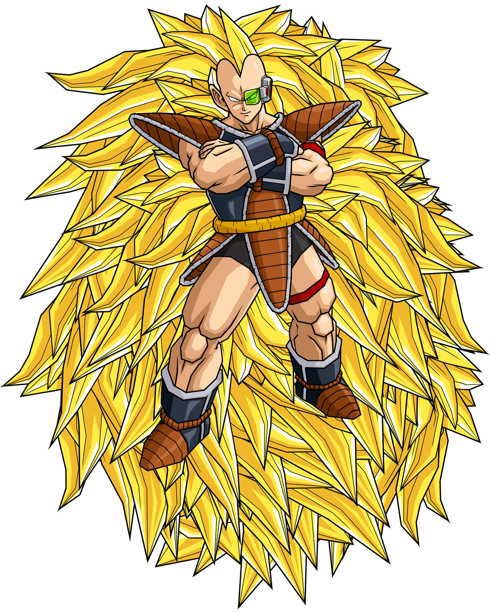 Super Saiyan 3 Raditz Dragon Ball Know Your Meme