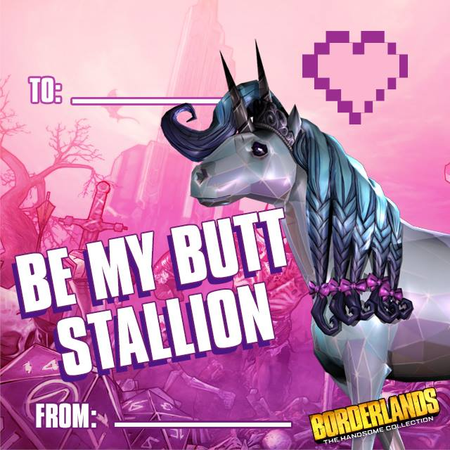 Be My Butt Stallion Valentine S Day E Cards Know Your Meme