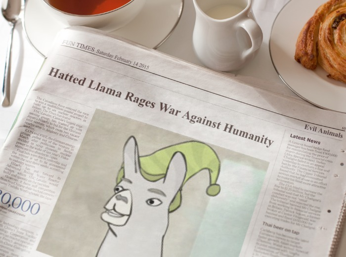 Carl The Llama Morning News Know Your Meme