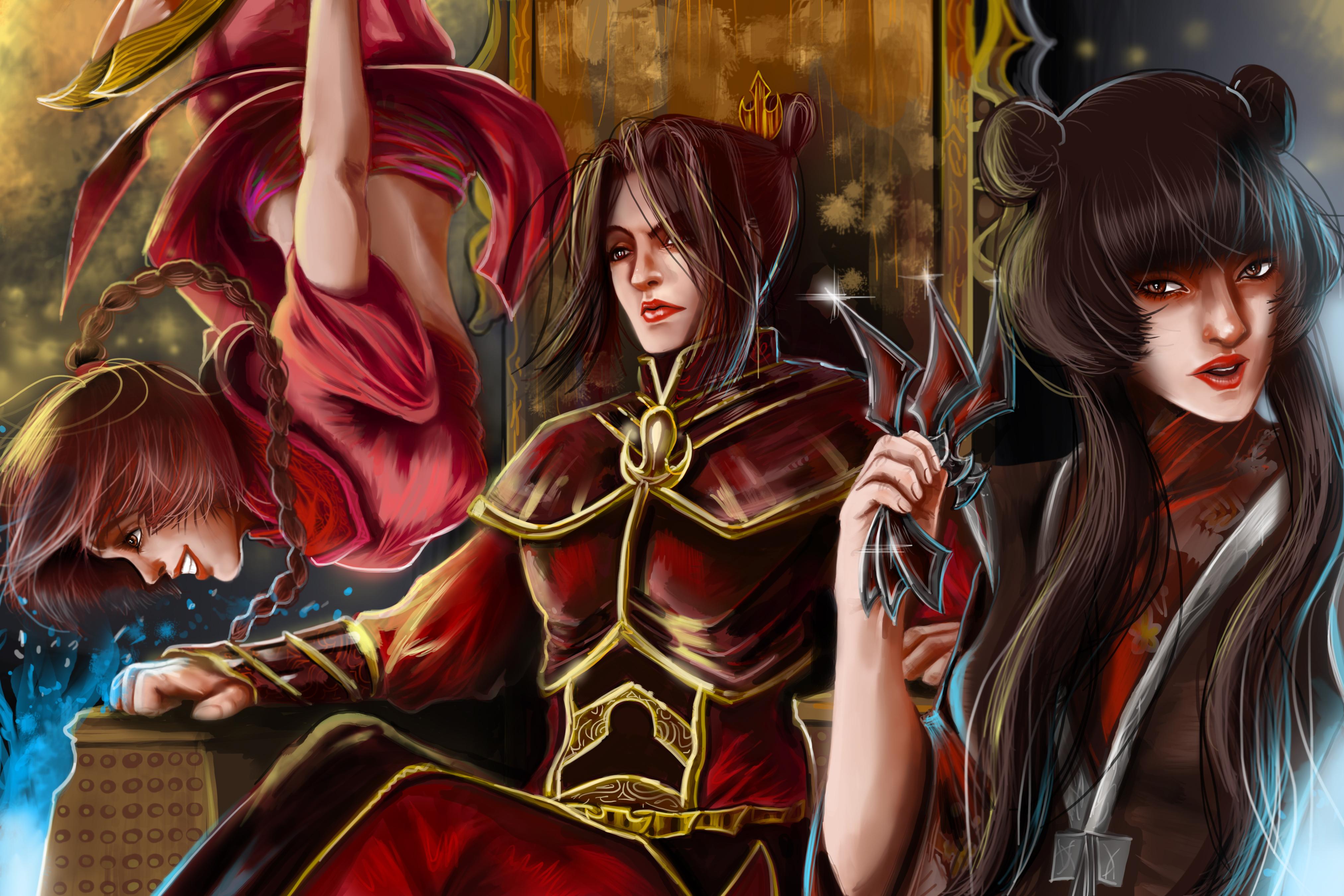 "Avatar Azula Mai Ty Lee azula, ty lee and mai"" | avatar: the last airbender / the"