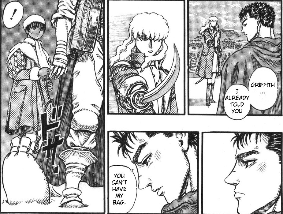 Griffith Already Told You Can T Have My Bag