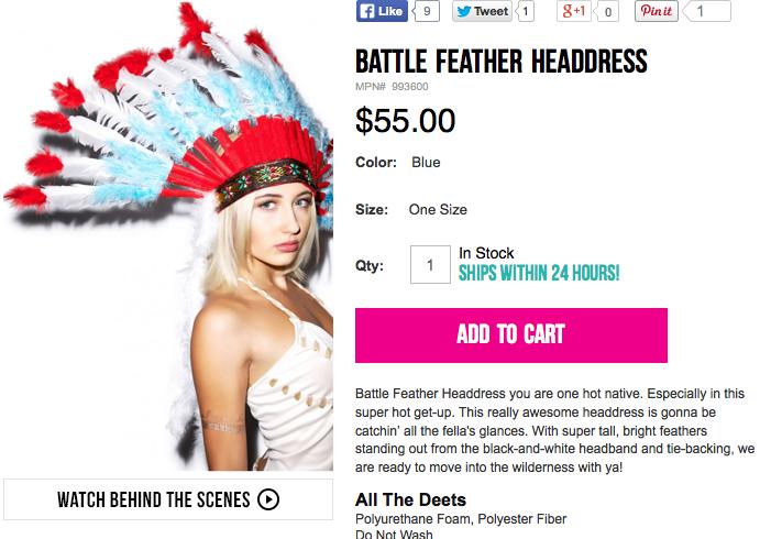 Battle Feather Headdress