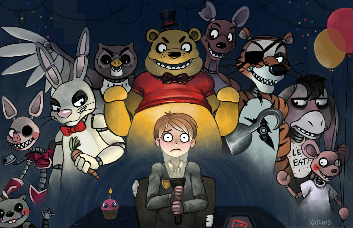 Five Nights At Poohs Five Nights At Freddys Know Your Meme