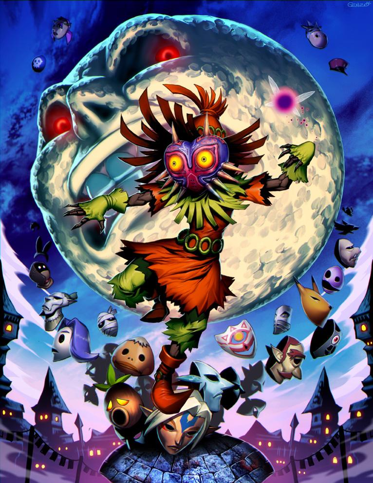zelda majoras mask the legend of zelda know your meme