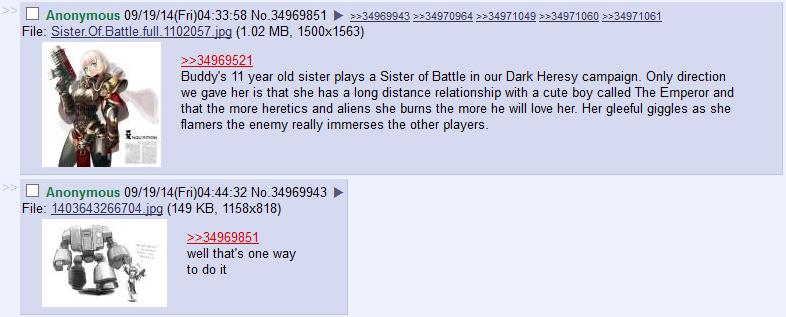 Explaining purging to kids | Warhammer 40,000 | Know Your Meme