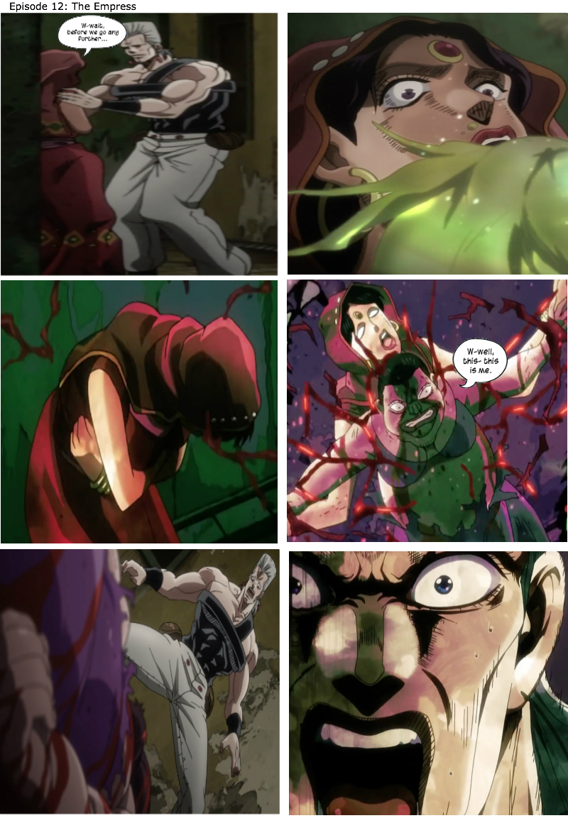 I Wonder If Polnareff Would Have Preferred To See A Penis Instead Of