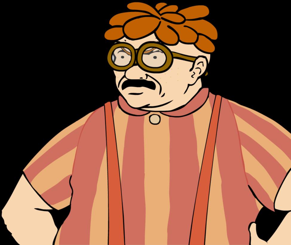 The Legend Of Zelda Breath Wild Carl Wheezer Croissant Face Eyewear Man Facial