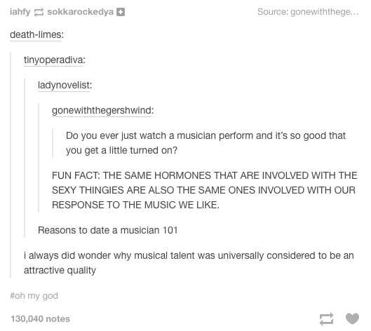 Music And Sex Sounds Like Some Dirty Deeds Done Dirt Cheap
