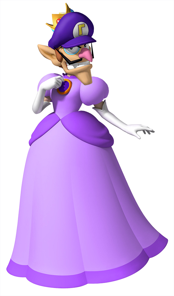 waluigi is pretty princess waluigi know your meme
