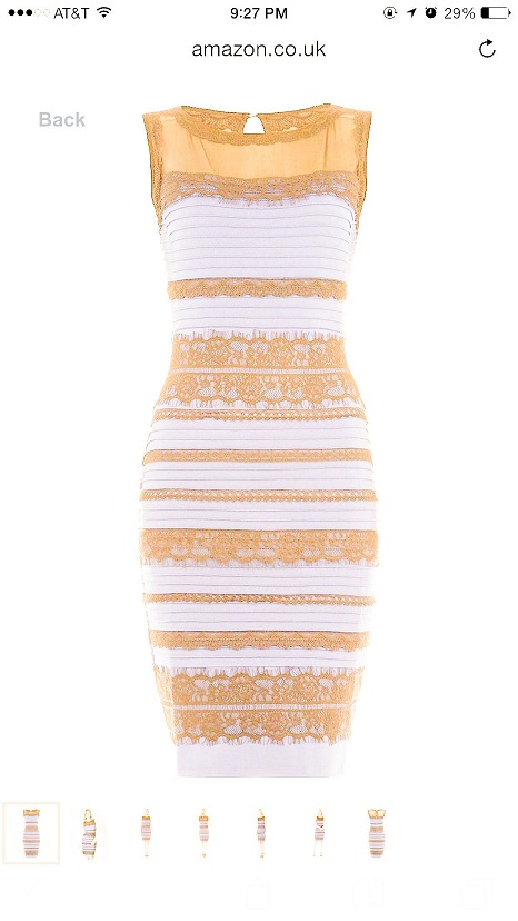 White And Gold Dress Thedress What Color Is This Dress Know